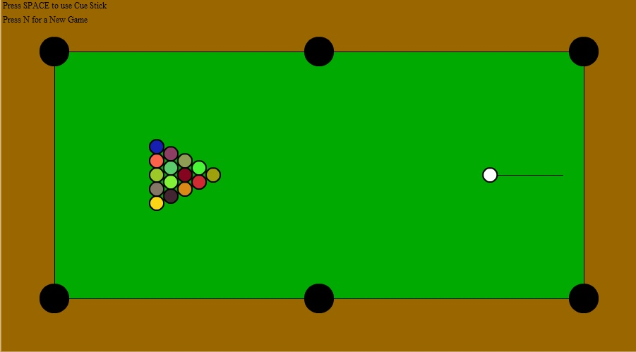 flash billiard game